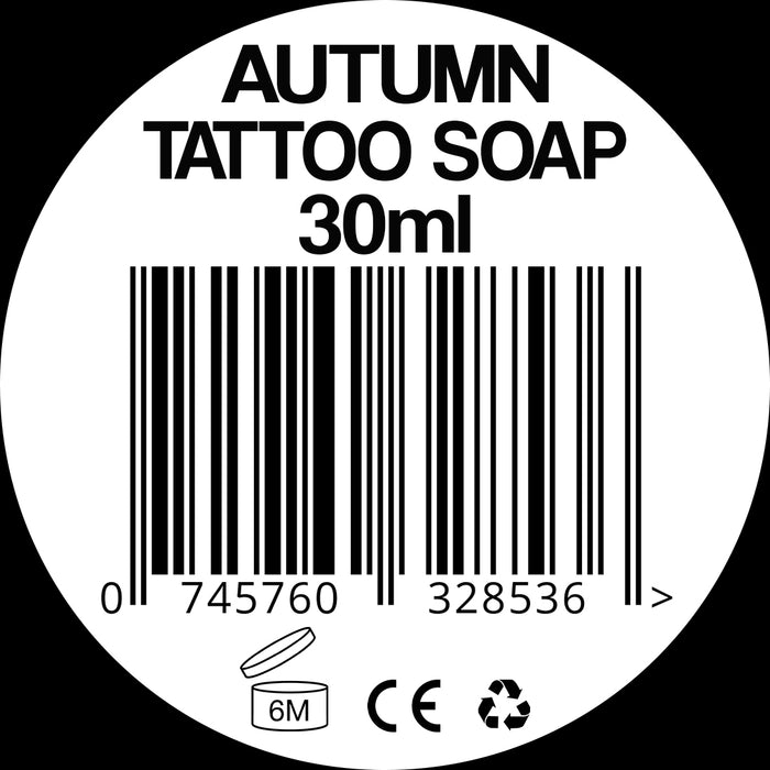 Autumn Tattoo Soap