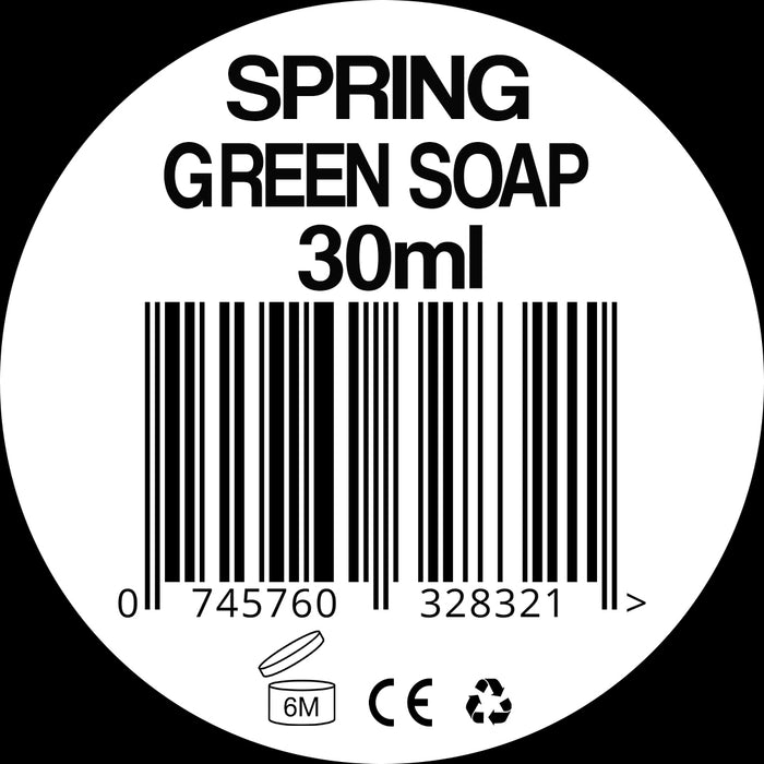 Spring Green Soap