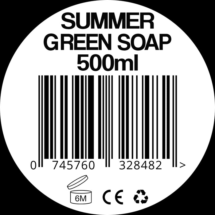 Summer Green Soap