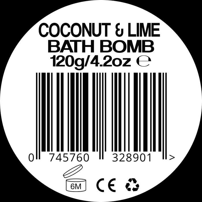 Aloha Coconut and Lime Bath Bomb