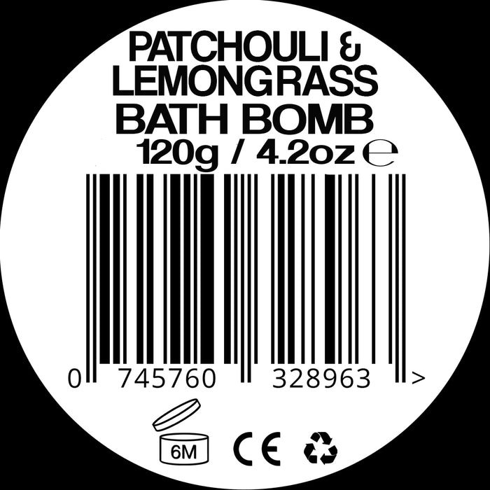 Jollygasm Patchouli and Lemongrass Bath Bomb