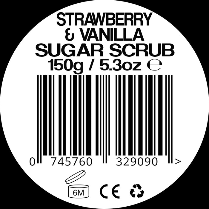 Rubem Strawberry & Vanilla Sugar Scrub
