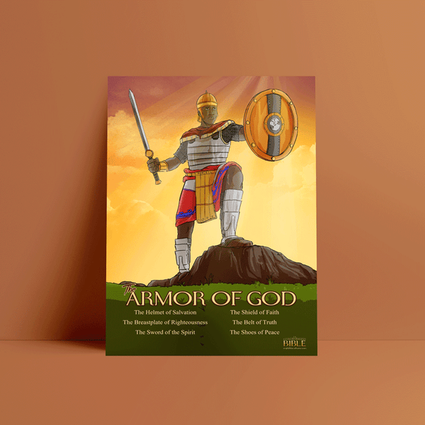 The Armor of God Wall Poster
