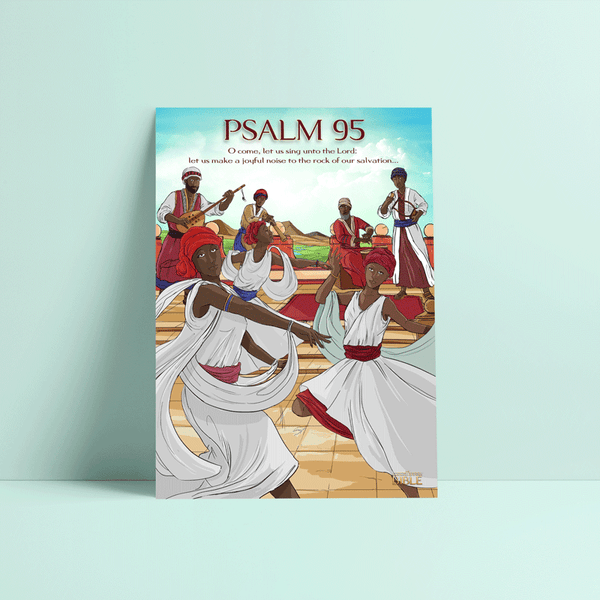 Psalm 95 Wall Poster