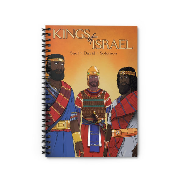 Spiral Notebook - Kings of Israel