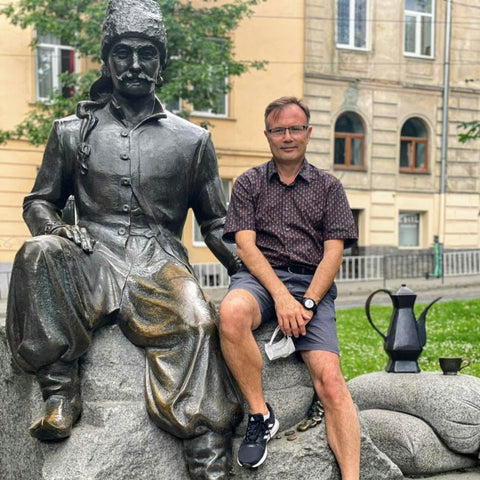 Yuri-Franz Kulchytsky - the spy who saved Vienna from the Ottoman occupation in 1683. Later, he opened the first coffeehouse in Vienna