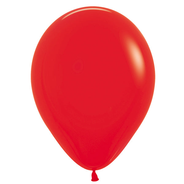 Red latex balloon.