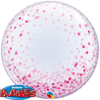 Deco Bubble - Pink Confetti Dots 24
