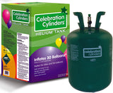 Small disposable helium tank.