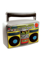 Inflatable boom box.