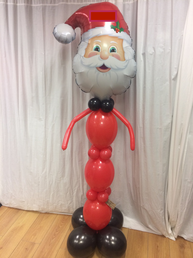 Large Santa balloon character.