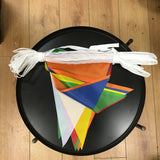 Pennant Bunting - Polyester Multicolour (heavy duty outdoor)
