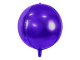 Purple where shaped foil balloon.