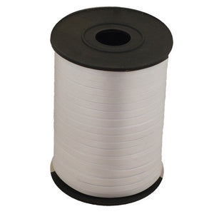 Roll of silver ribbon.