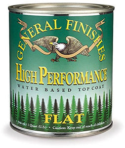 General Finishes - High Performance Water Based Topcoat: FLAT