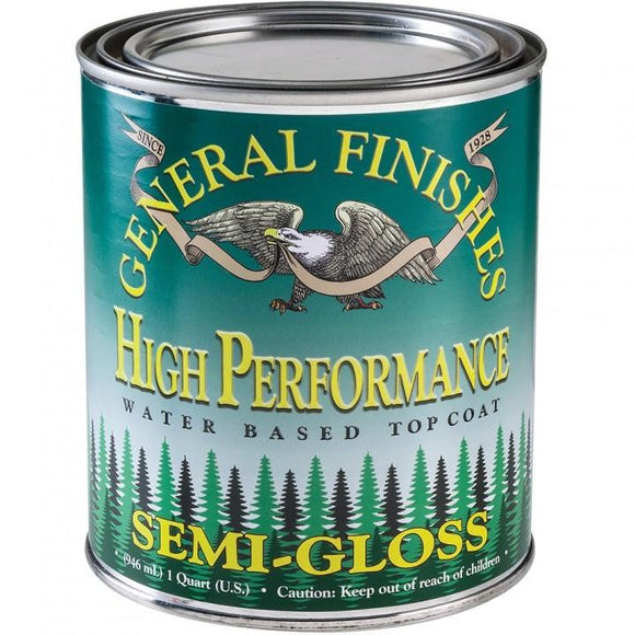General Finishes - High Preformance Water Based Topcoat: SEMI GLOSS