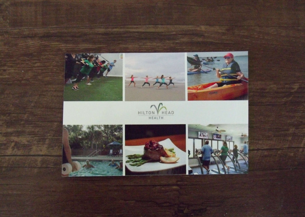 Hilton Head Health Postcard