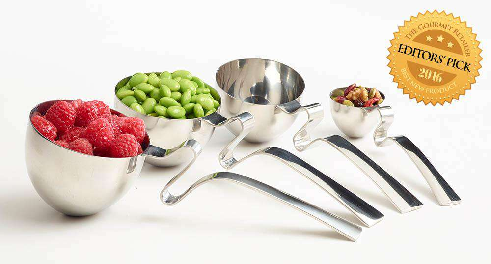 LivSpoons: Set of 4 Measuring/Serving Spoons