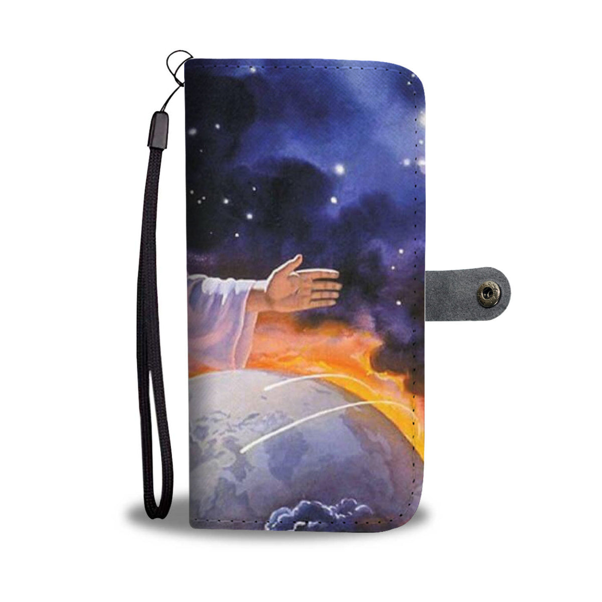 Jesus World Wallet Case