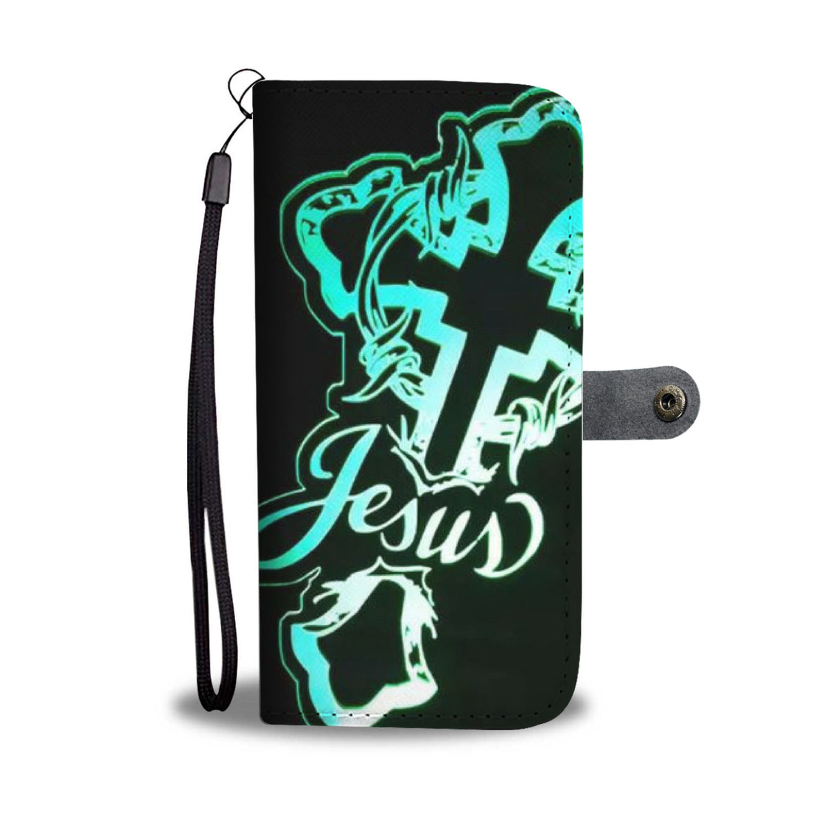 Jesus Cross Wallet Case
