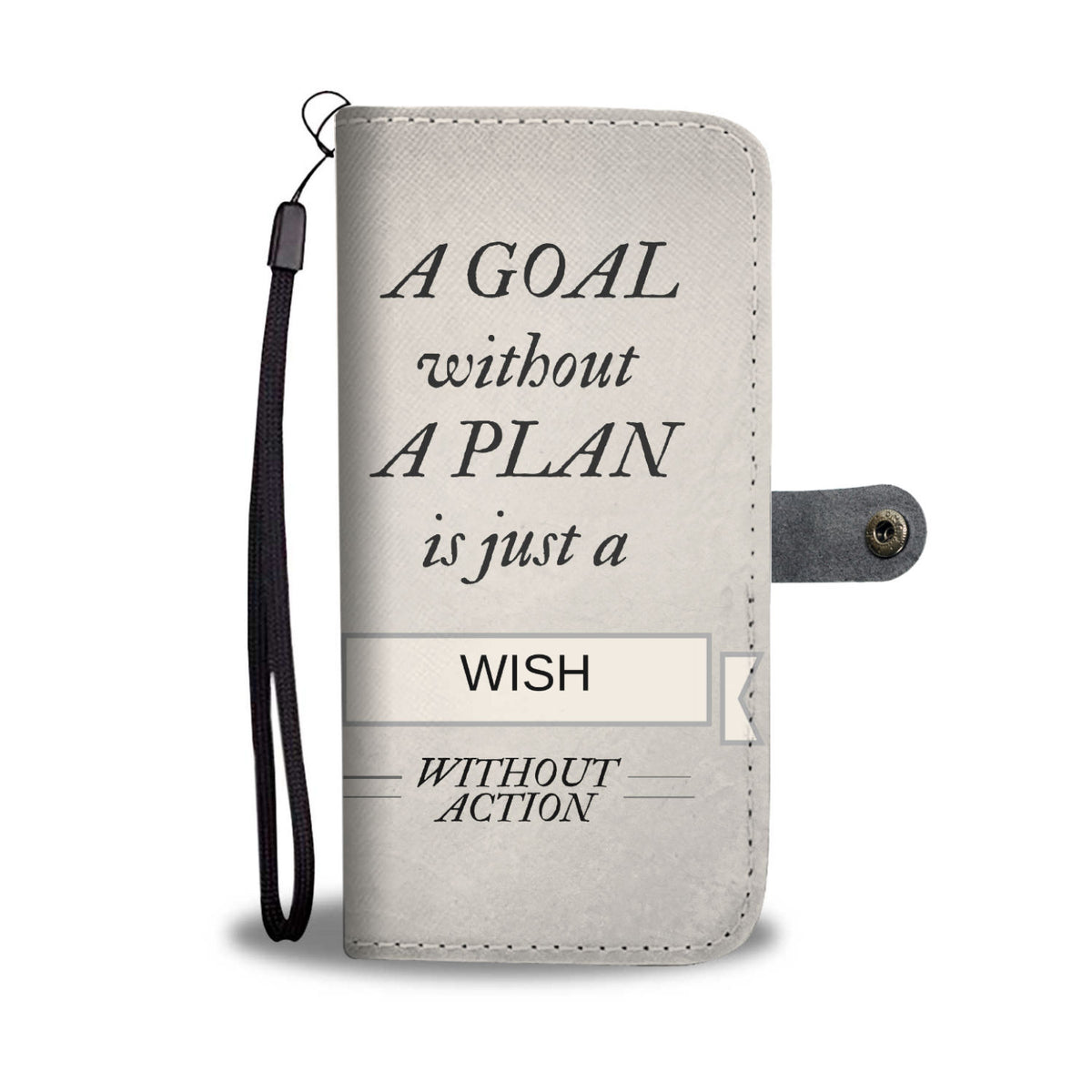 Motivational Wallet Case