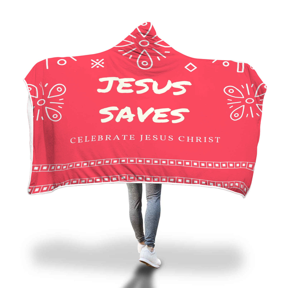 Celebrate Jesus Christ Fleece Blanket