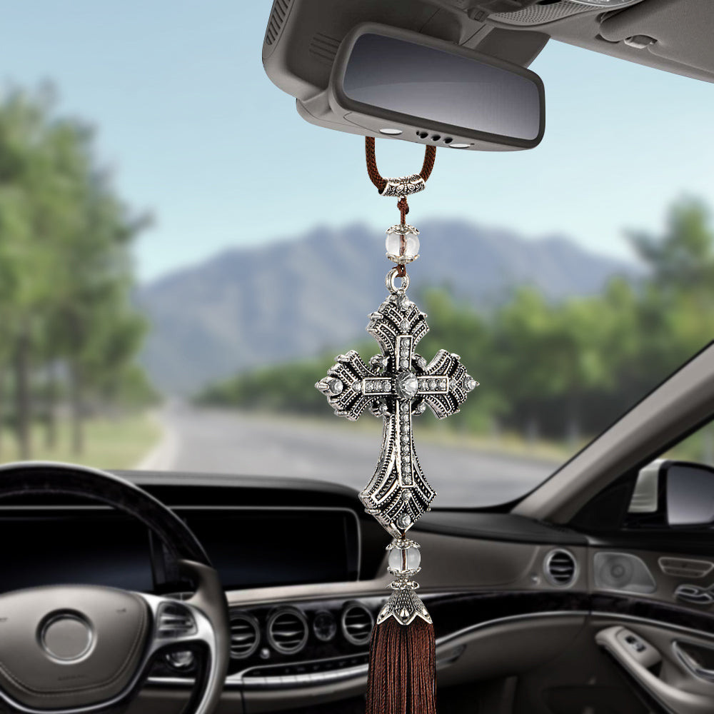 Crystal Diamond Car Pendant