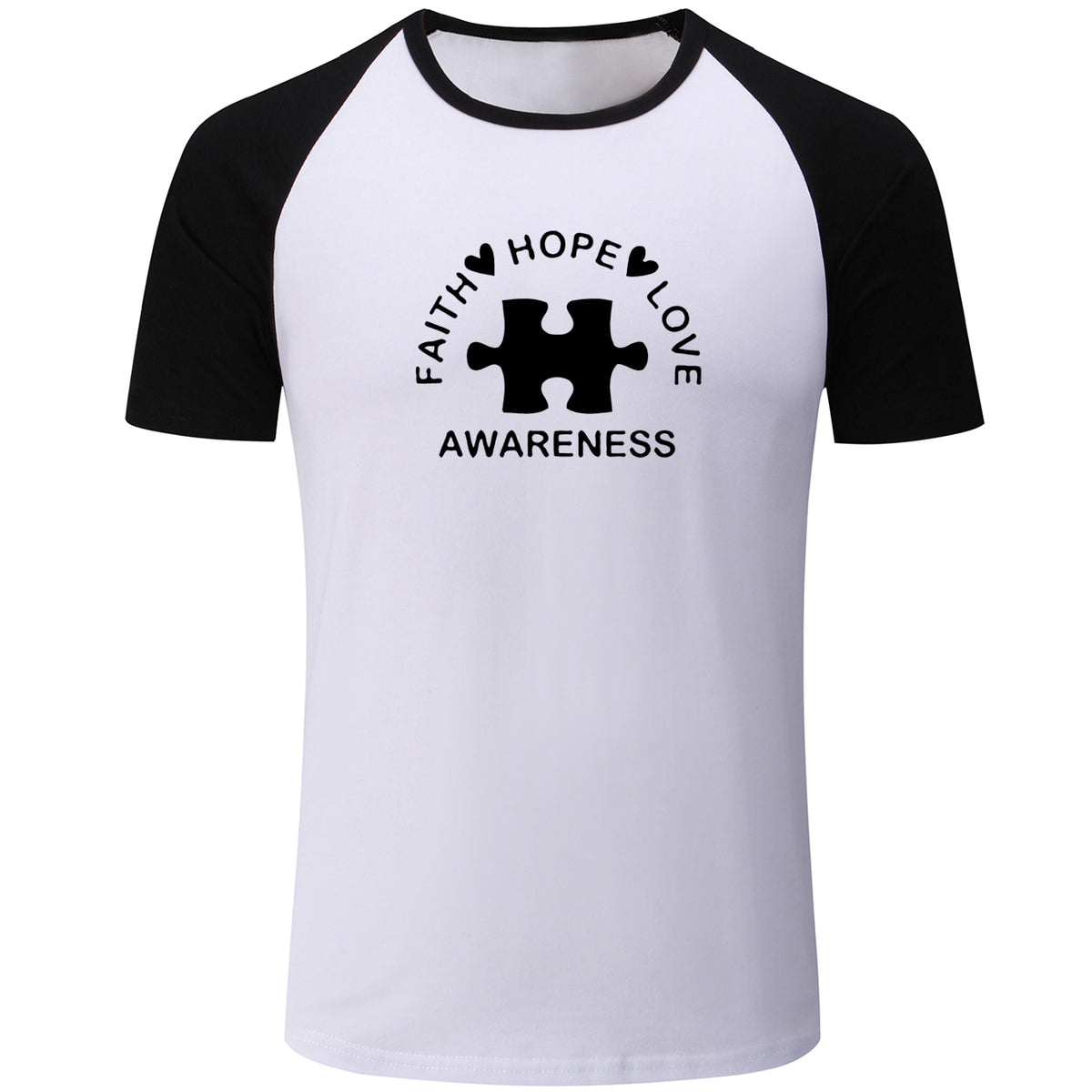 Unisex Faith Hope Love Awareness