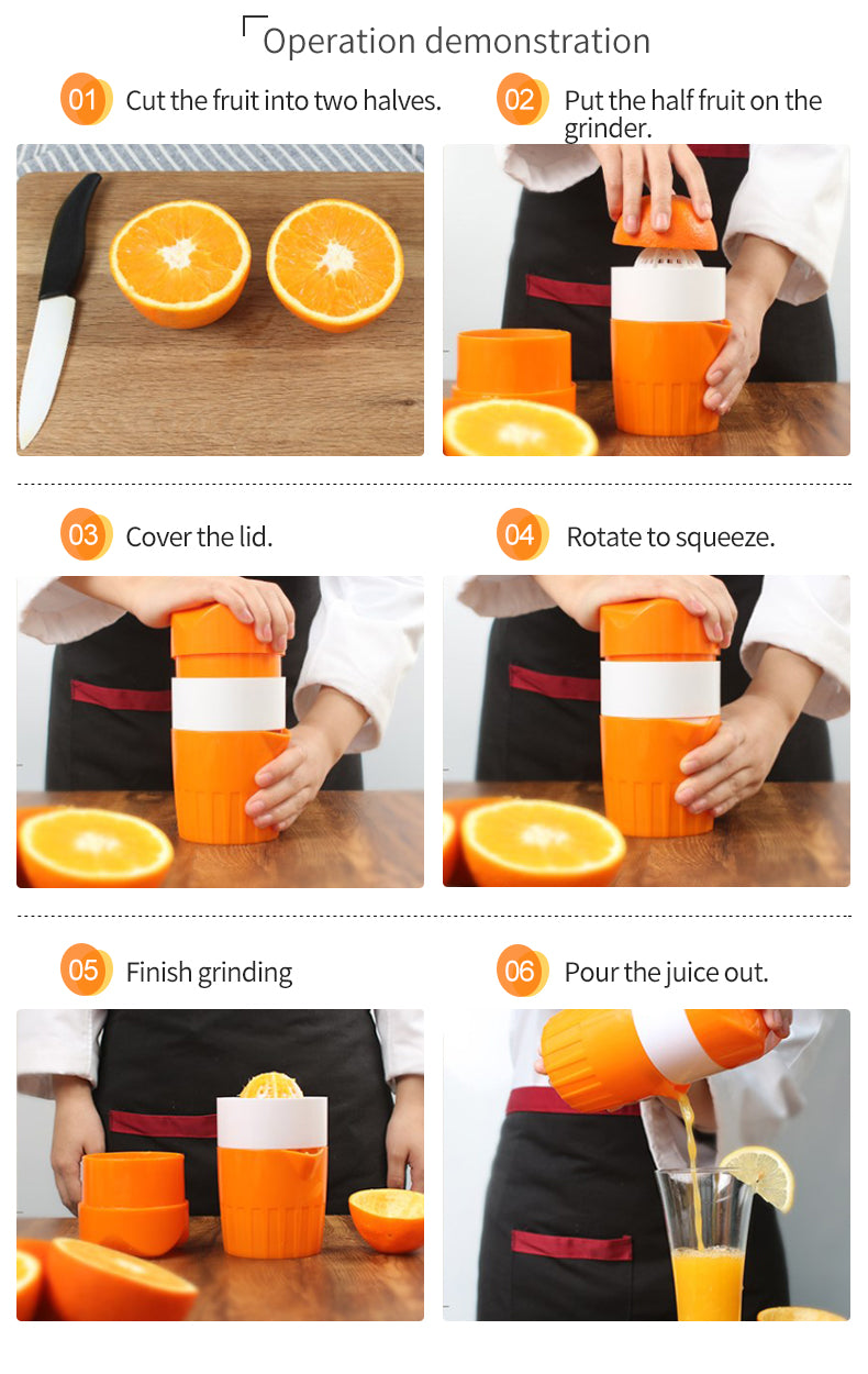 Manual Juicer For Fruit Squeezer