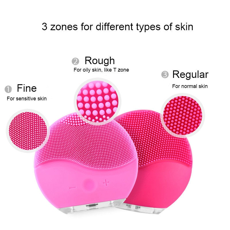 Facial Cleansing Sonic Brush