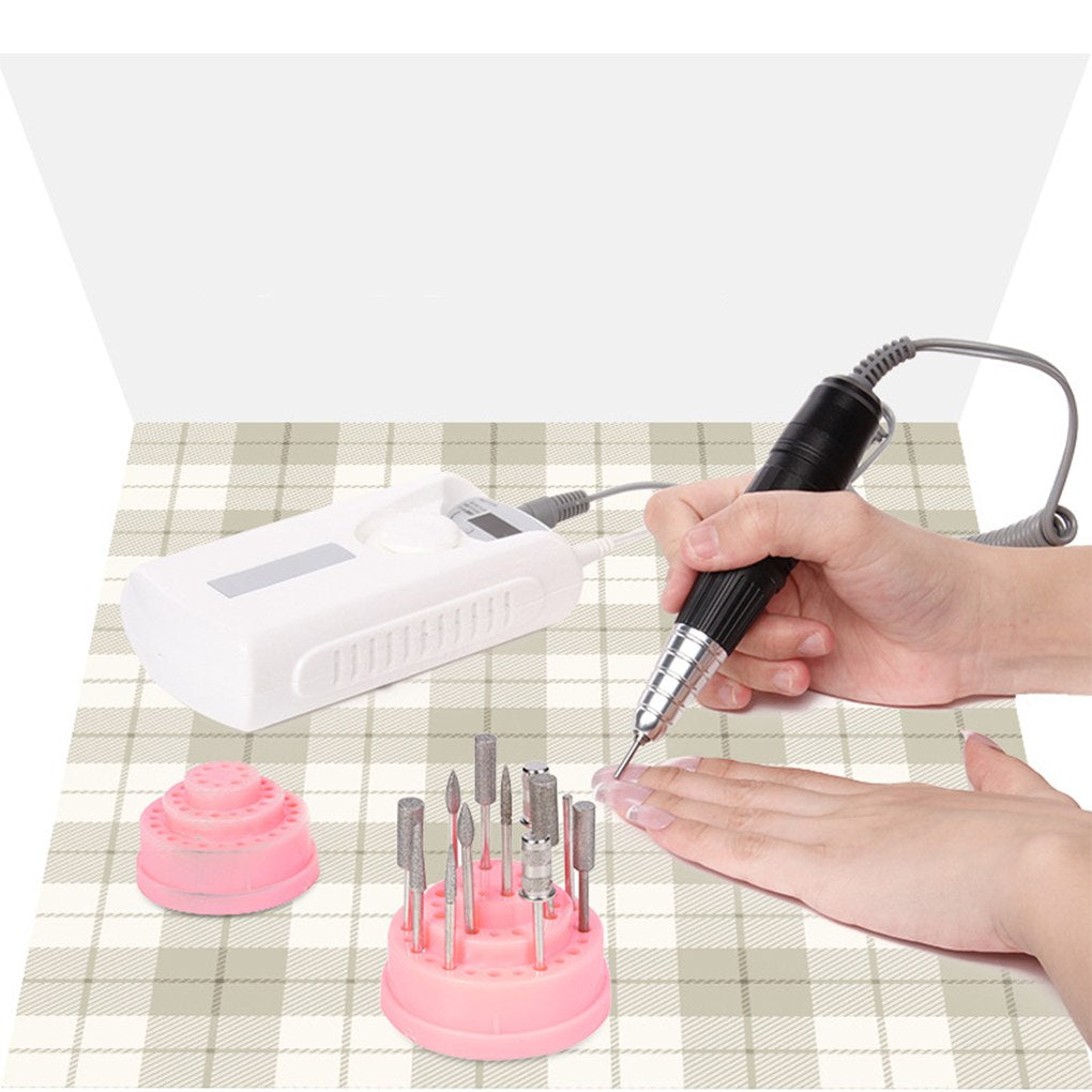 Storageable Nail Drill Holder