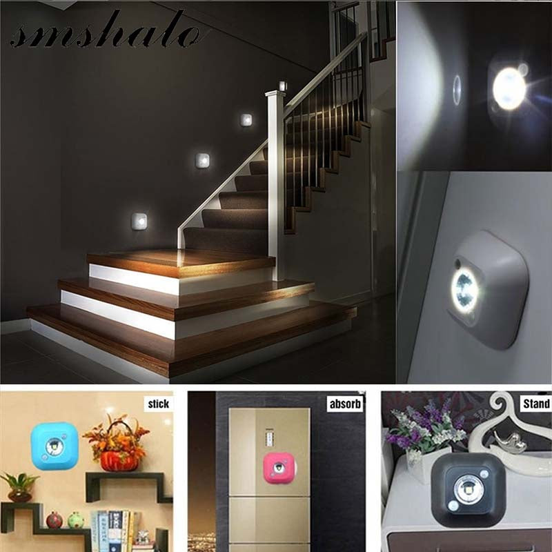 LED Sensor Night Light Dual Induction