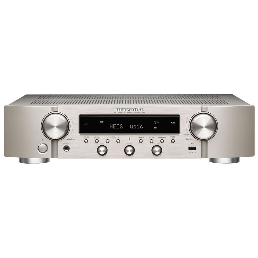 [FREE GIFT: Jade Audio EW1 worth $89] Marantz NR1200 Slim Stereo Network Receiver with HEOS Built-in