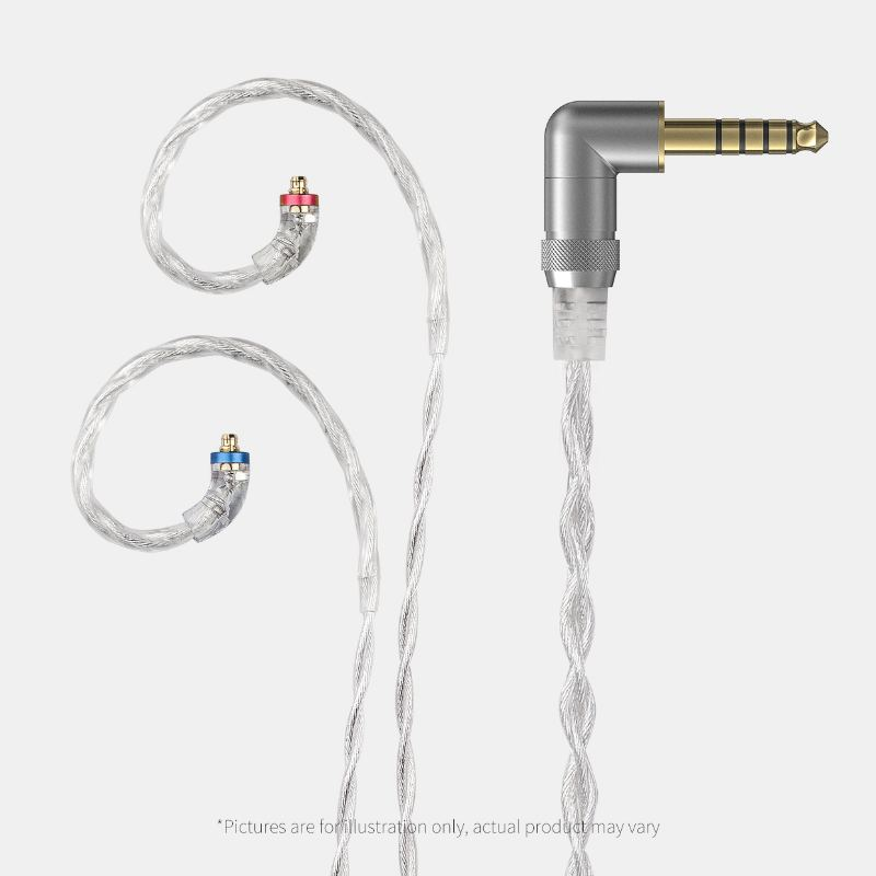 FiiO LC-2.5D/3.5D/4.4D High-Purify Monocrystalline Sterling Silver Litz Earphone Cable