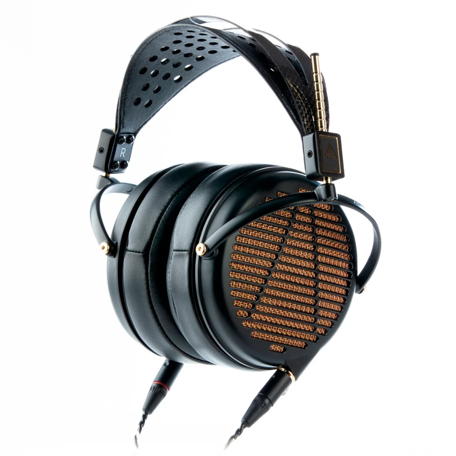 Audeze LCD-4z Over-Ear Planar Magnetic Headphones, 15 Ohm, Magnesium Earcups, Gold Grilles