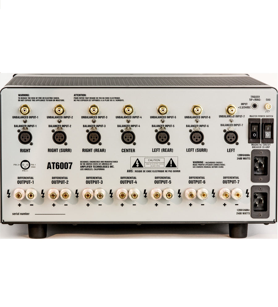 ATI AT6002 / AT6003 Morris Kessler Signature Amplifiers