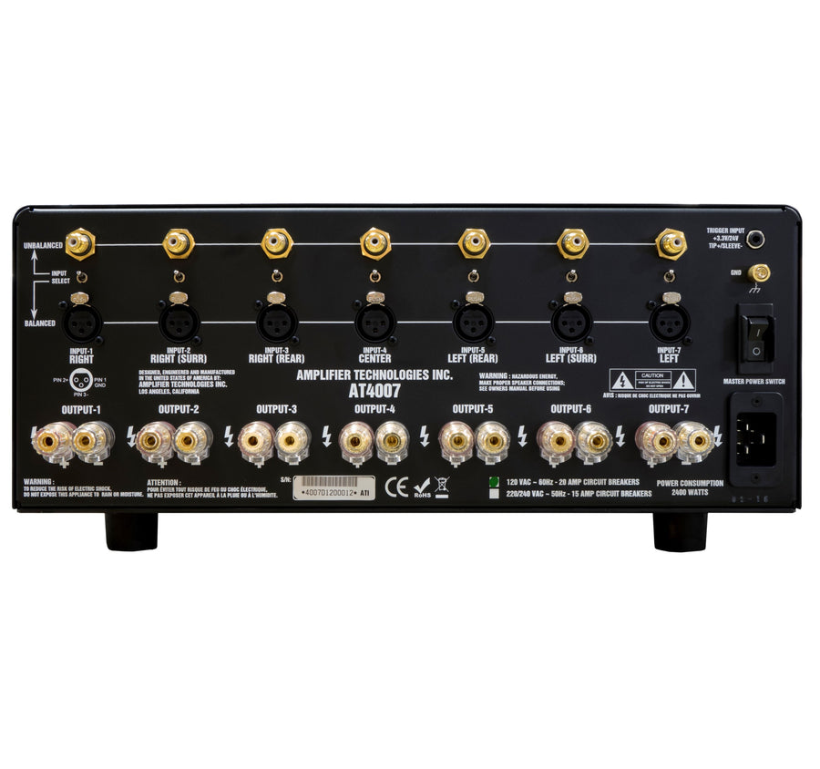 ATI AT4007 Morris Kessler Signature Amplifier