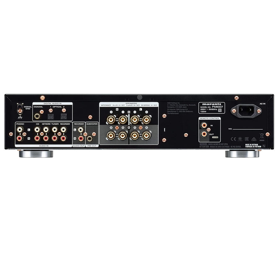 [FREE GIFT: Jade Audio EW1 worth $89] Marantz PM6007 Integrated Amplifier with Digital Connectivity