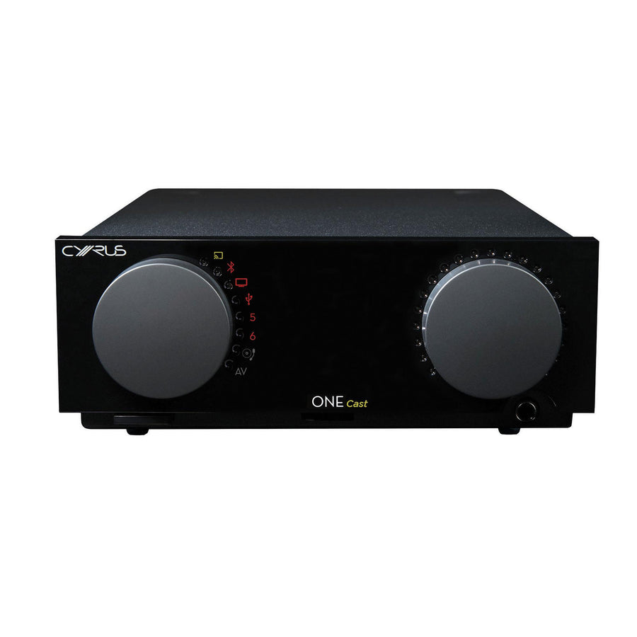 Cyrus One Cast Stereo Amplifier (Free Gift: Cyrus Soundbuds worth $169)