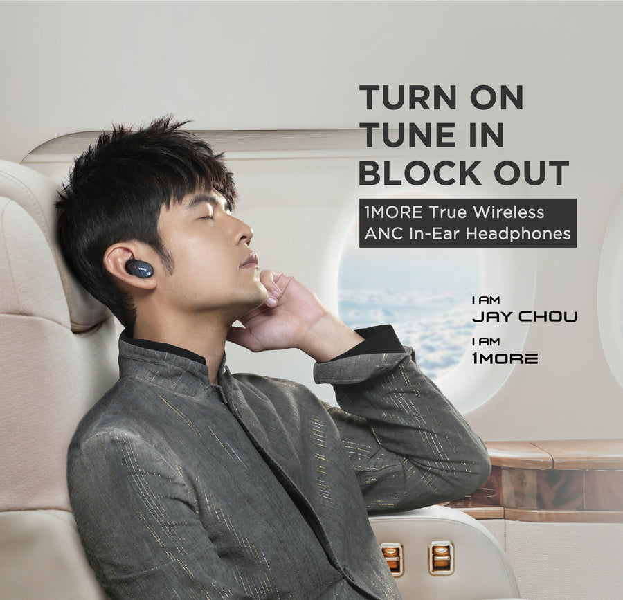 [Endorsed by Jay Chou] 1MORE TRUE WIRELESS ANC IN-EAR HEADPHONES (EHD9001TA)