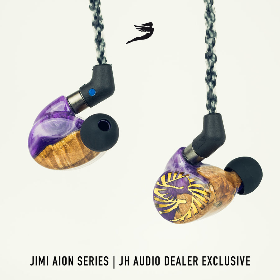 JH AUDIO LIMITED EDITION PURPLE HAZE JIMI AION UNIVERSAL IEM