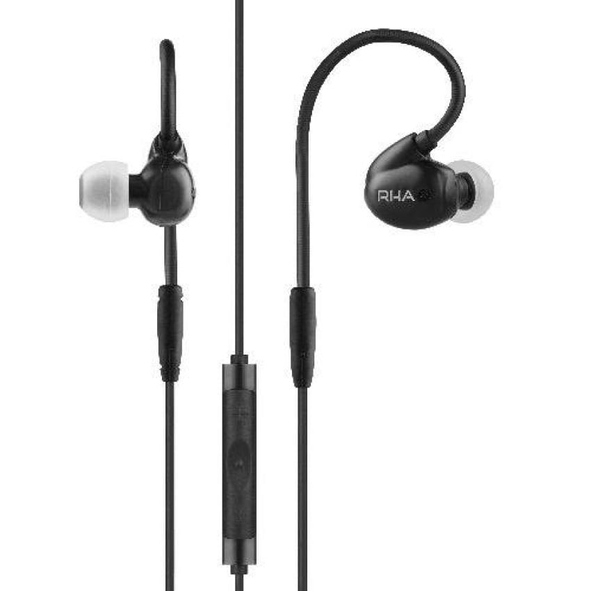 RHA T20i Black DualCoil in-ear Headphones