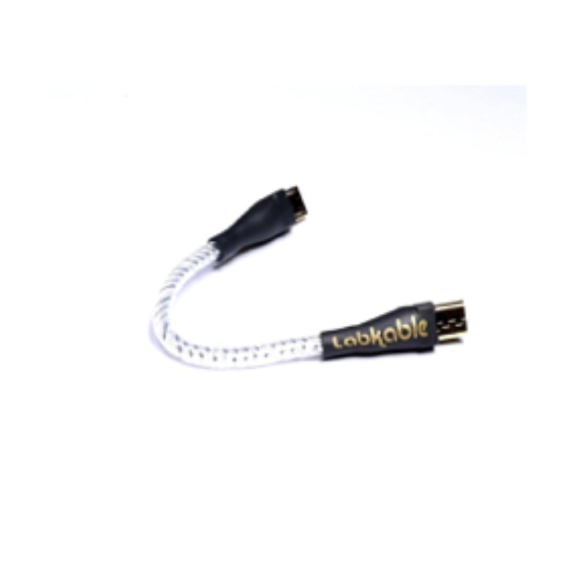 Labkable Silver OCC Micro to Micro Jumper cable