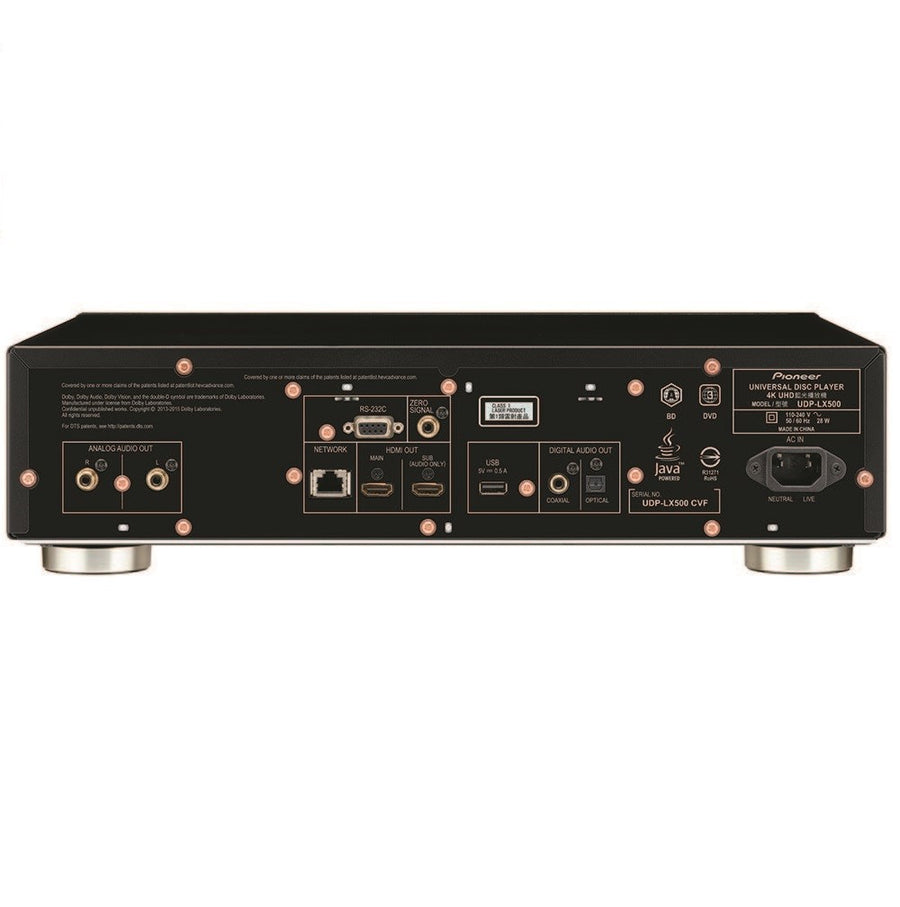 Pioneer UDP-LX500 4K UHD Universal Disc Player
