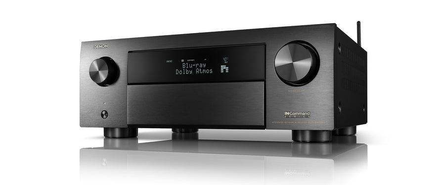 Denon AVC-X4700H (2020) 9.2 Ch. 8K AV receiver with 3D Audio, HEOS® Built-in and Voice Control