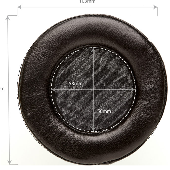 Dekoni Audio Elite Fenestrated Sheepskin Replacement Ear Pads for Fostex TH and Denon AH Series Headphones