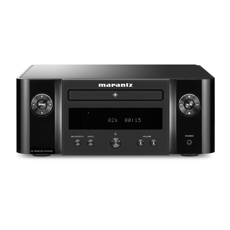 Marantz Melody M-CR412 Network CD receiver featuring HEOS, FM/AM, Bluetooth, AirPlay 2 and voice control compatibility