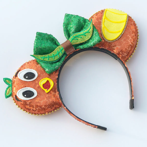 Orange Bird Mouse Ears