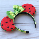 Watermelon Mouse Ears - Flower and Garden festival
