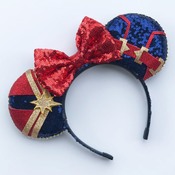 Girl Superhero Mouse Ears
